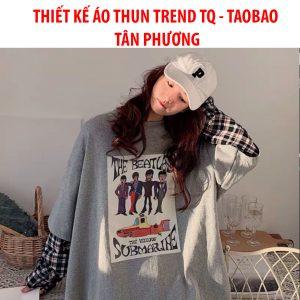 THIẾT KẾ ÁO THUN TREND TRUNG QUỐC- TAO BAO